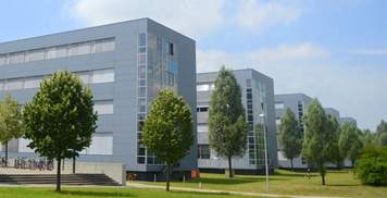 Photo of clean tech business buildings