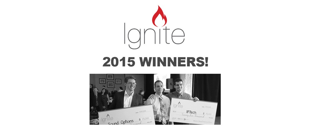 IFTech And Sound Options Announced As The $25,000 Winners Of Ignite